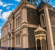 Unley City Council chambers and civic centre by indiafrank