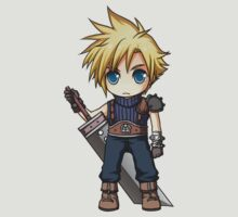 Cloud Strife chibi by banafria