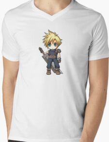 Cloud Strife chibi Mens V-Neck T-Shirt