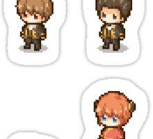 Pixel Gintama set Sticker