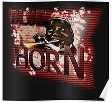 Louis Armstrong - Blow Horn with Bubbles Poster