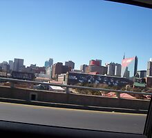 Johannesburg; view from car by mnewmark84