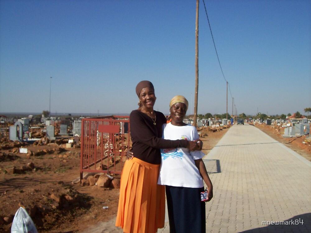 Zutu women in a local cemetery by mnewmark84
