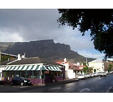 Table Mountain, Cape Town Photographic Print