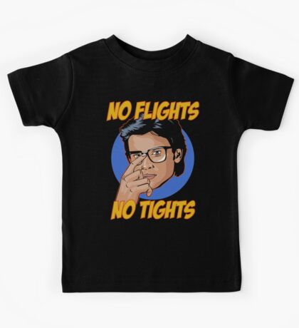Official Tom Welling - No Flights, No Tights Tee Kids Tee