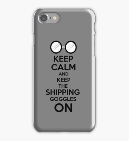Shipping goggles iPhone Case/Skin