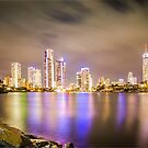 Evandale Park Lights by Marian Moore