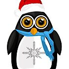 Christmas Penguin by Adamzworld