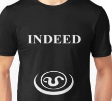 Indeed - Teal'c forehead symbol Unisex T-Shirt