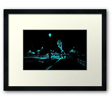 Notre Dame Night 1 Framed Print