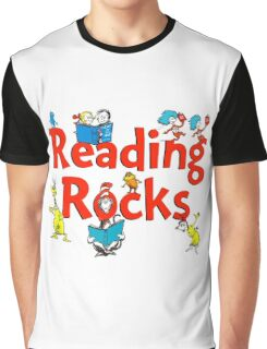 read across america - reading rocks - Dr Seuss Graphic T-Shirt