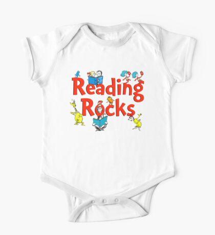 read across america - reading rocks - Dr Seuss One Piece - Short Sleeve