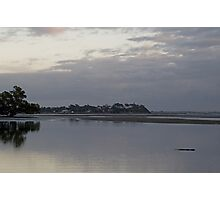 Nudgee Beach at dawn. Photographic Print