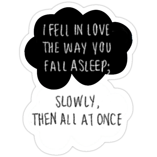 I Fell in Love the Way You Fall Asleep by Trisha Bagby