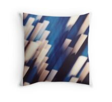 "'Crystals' from the series ""The Abyss"" Throw Pillow"