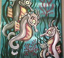 Seahorses by Erin Gaudet