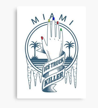 ice truck killer Canvas Print