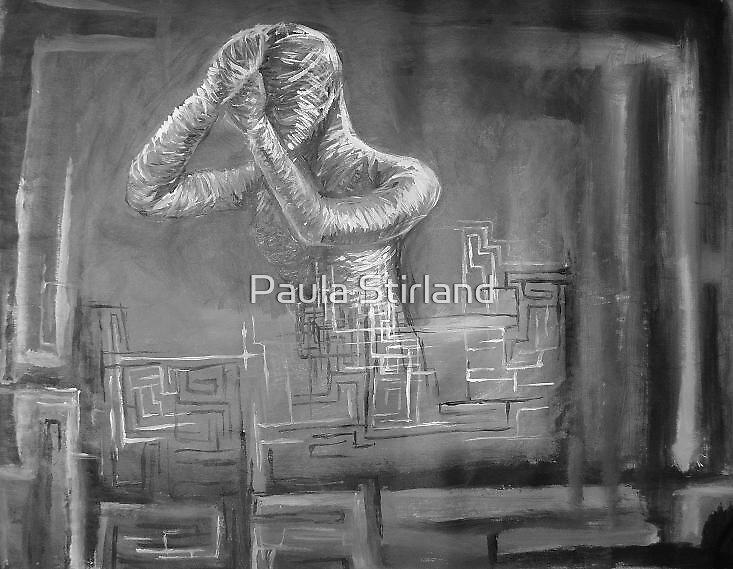 Lost in despair by Paula Stirland
