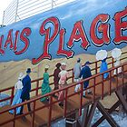 Calais Plage  by Marilyn Harris