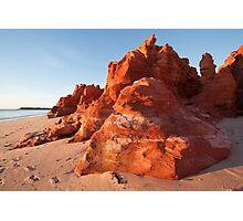 Where the desert meets the sea Photographic Print