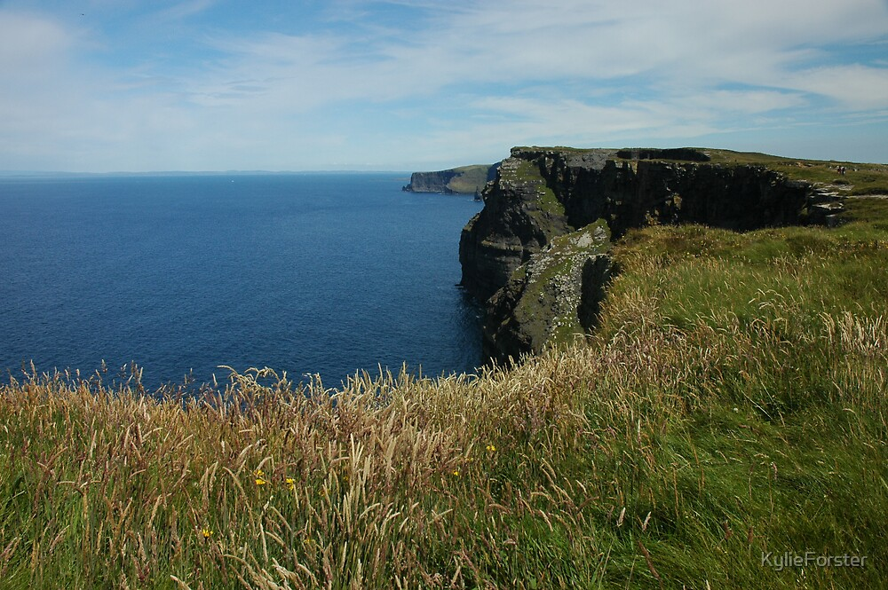 Cliffs of Mohr, Ireland by KylieForster