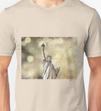 Statue of Liberty - Bokeh Unisex T-Shirt
