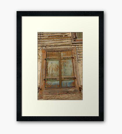 'Weathered' Framed Print