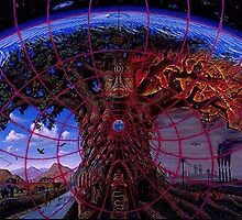 gaia tree by grey a. by MrVogelfutter