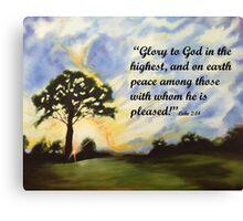 Christimas Glory Canvas Print