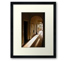 The Broom Framed Print