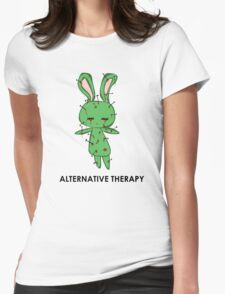 Alternative Therapy Womens Fitted T-Shirt