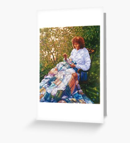 The Quilt Greeting Card