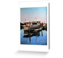 Wynnum Creek Morning Greeting Card