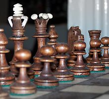 Your move... by Stevie Toye