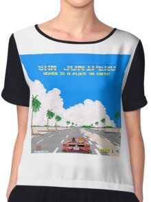Black Mirror / San Junipero / Out Run Chiffon Top