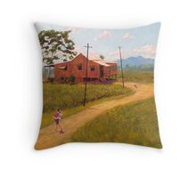 Home at Last! Throw Pillow