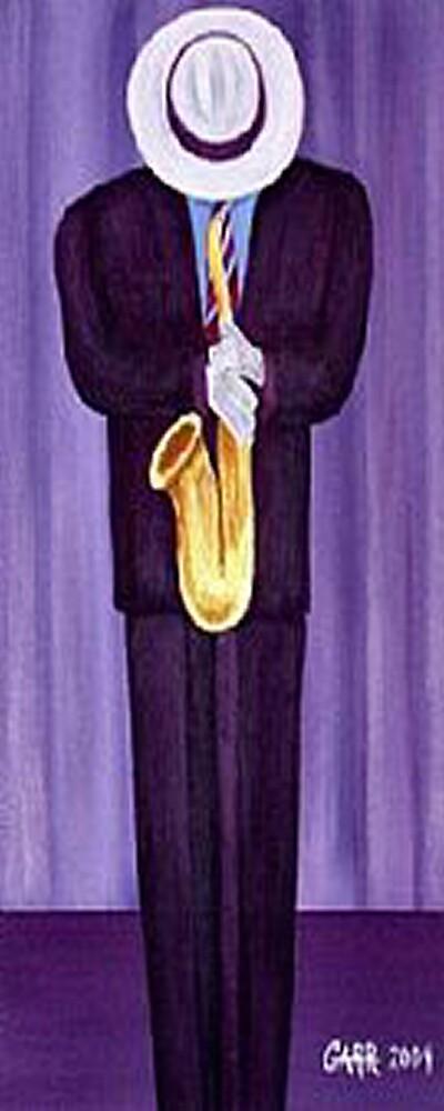 Sax Man by Peggy Garr