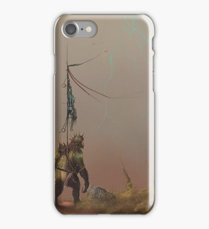 """Goblins Of The Hand """"A Storm Is Coming"""". iPhone Case/Skin"""