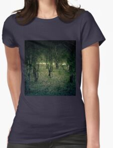Pine Forest 6 Womens Fitted T-Shirt