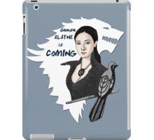 Alayne Is Coming iPad Case/Skin