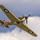 Hawker Hurricane I R4118 G-HUPW by Colin Smedley