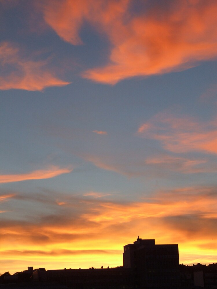 Brighton sunset by acey