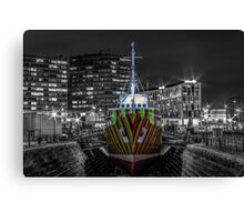 The Dazzle Ship Canvas Print