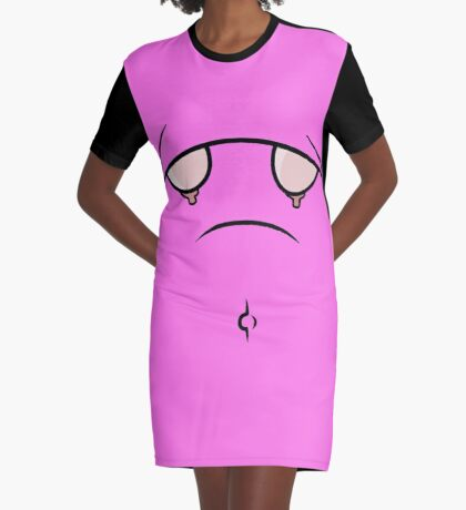Boobs or alternatively a sad face. Graphic T-Shirt Dress