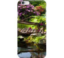 Beautiful perfect garden landscape iPhone Case/Skin