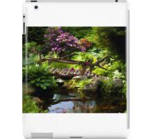 Beautiful perfect garden landscape iPad Case/Skin