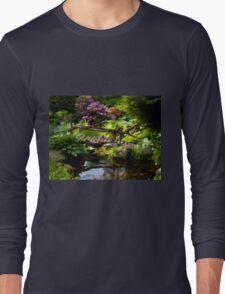 Beautiful perfect garden landscape Long Sleeve T-Shirt