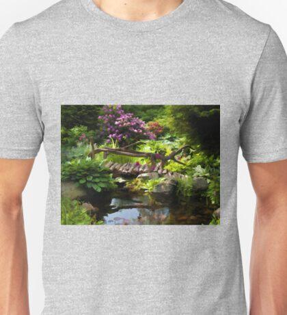 Beautiful perfect garden landscape Unisex T-Shirt