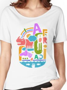 Africa illustration Women's Relaxed Fit T-Shirt