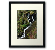 Spring Cascade  Framed Print